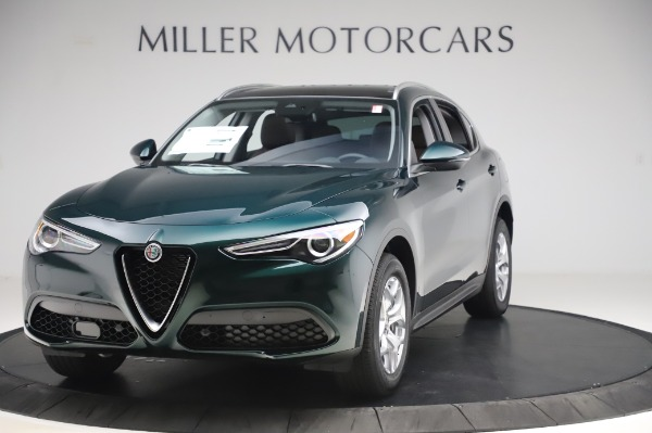 New 2020 Alfa Romeo Stelvio for sale $48,745 at Bugatti of Greenwich in Greenwich CT 06830 1