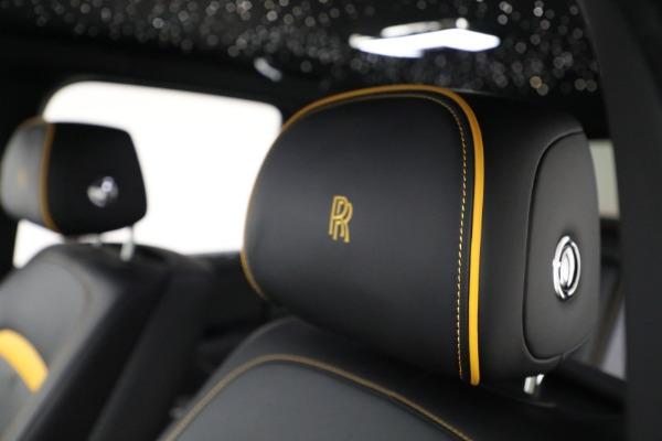New 2020 Rolls-Royce Cullinan Black Badge for sale $436,275 at Bugatti of Greenwich in Greenwich CT 06830 22