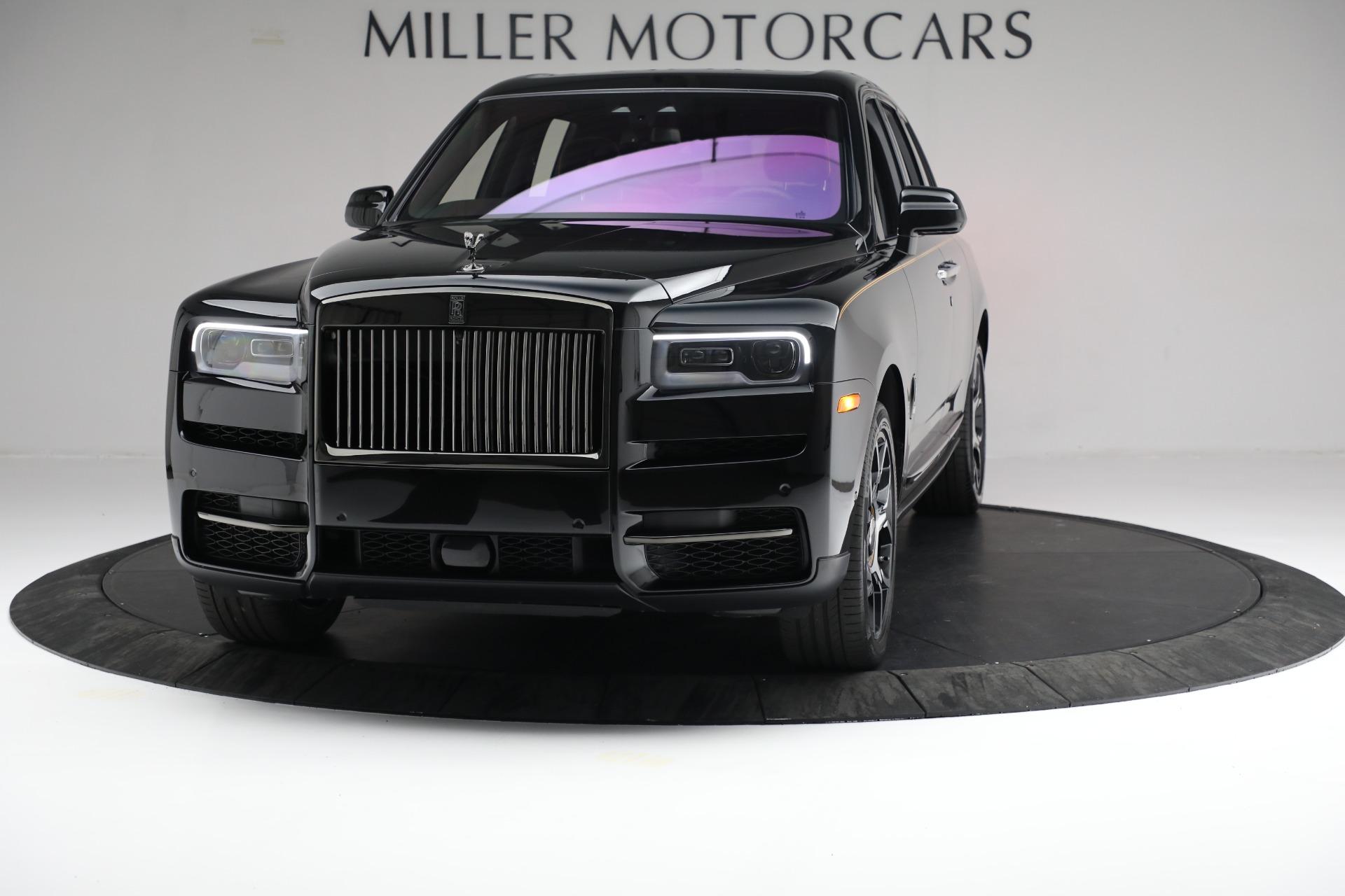 New 2020 Rolls-Royce Cullinan Black Badge for sale $436,275 at Bugatti of Greenwich in Greenwich CT 06830 1