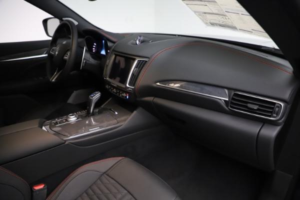 New 2019 Maserati Levante S GranSport for sale $110,855 at Bugatti of Greenwich in Greenwich CT 06830 22