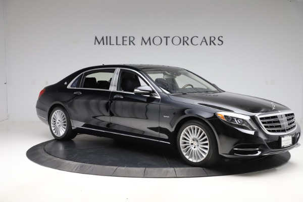 Used 2016 Mercedes-Benz S-Class Mercedes-Maybach S 600 for sale $87,900 at Bugatti of Greenwich in Greenwich CT 06830 10