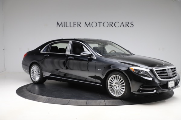Used 2016 Mercedes-Benz S-Class Mercedes-Maybach S 600 for sale $87,900 at Bugatti of Greenwich in Greenwich CT 06830 11