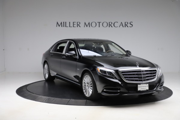 Used 2016 Mercedes-Benz S-Class Mercedes-Maybach S 600 for sale $87,900 at Bugatti of Greenwich in Greenwich CT 06830 12