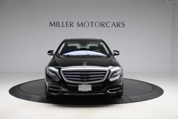 Used 2016 Mercedes-Benz S-Class Mercedes-Maybach S 600 for sale $87,900 at Bugatti of Greenwich in Greenwich CT 06830 13