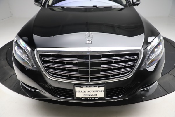 Used 2016 Mercedes-Benz S-Class Mercedes-Maybach S 600 for sale $87,900 at Bugatti of Greenwich in Greenwich CT 06830 14