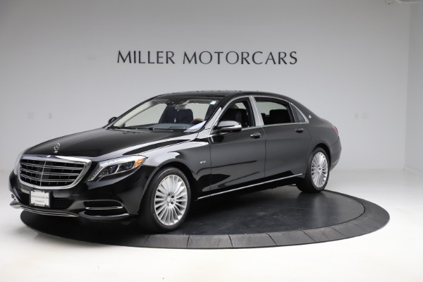 Used 2016 Mercedes-Benz S-Class Mercedes-Maybach S 600 for sale $87,900 at Bugatti of Greenwich in Greenwich CT 06830 2