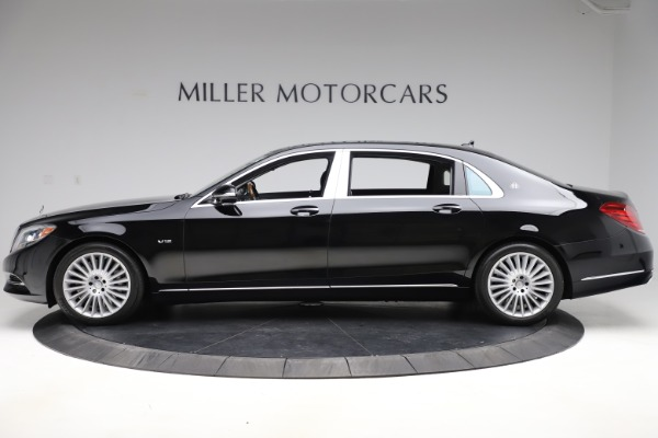 Used 2016 Mercedes-Benz S-Class Mercedes-Maybach S 600 for sale $87,900 at Bugatti of Greenwich in Greenwich CT 06830 3