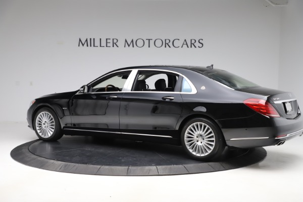 Used 2016 Mercedes-Benz S-Class Mercedes-Maybach S 600 for sale $87,900 at Bugatti of Greenwich in Greenwich CT 06830 4