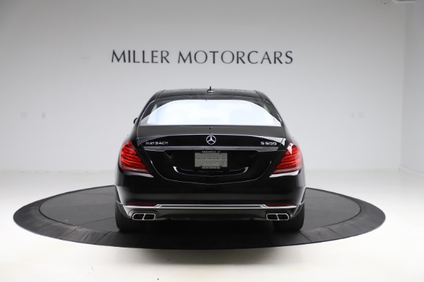 Used 2016 Mercedes-Benz S-Class Mercedes-Maybach S 600 for sale $87,900 at Bugatti of Greenwich in Greenwich CT 06830 6