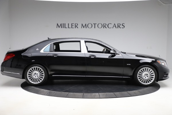 Used 2016 Mercedes-Benz S-Class Mercedes-Maybach S 600 for sale $87,900 at Bugatti of Greenwich in Greenwich CT 06830 9