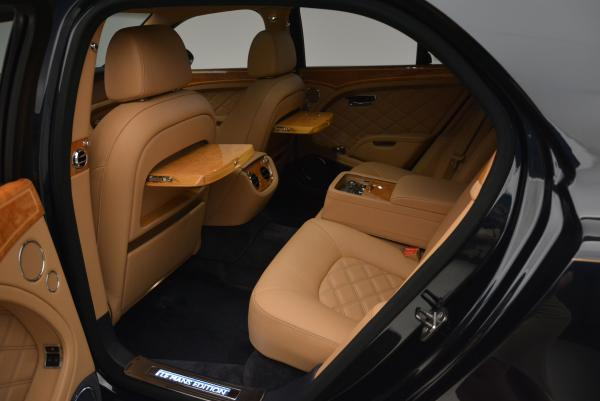 Used 2013 Bentley Mulsanne Le Mans Edition- Number 1 of 48 for sale Sold at Bugatti of Greenwich in Greenwich CT 06830 25