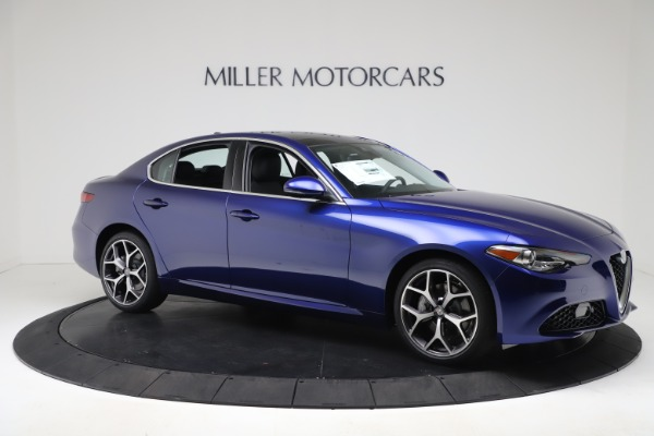New 2020 Alfa Romeo Giulia Ti Q4 for sale $49,245 at Bugatti of Greenwich in Greenwich CT 06830 10