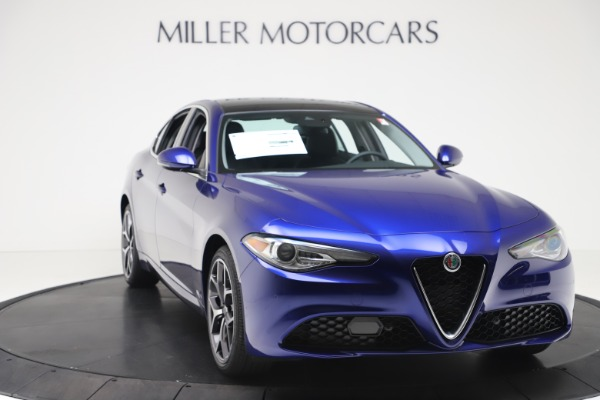 New 2020 Alfa Romeo Giulia Ti Q4 for sale $49,245 at Bugatti of Greenwich in Greenwich CT 06830 11