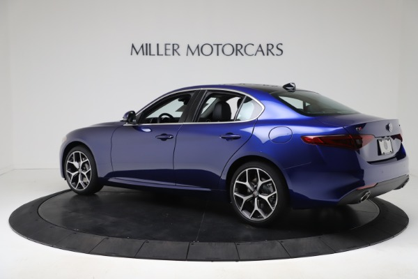 New 2020 Alfa Romeo Giulia Ti Q4 for sale $49,245 at Bugatti of Greenwich in Greenwich CT 06830 4