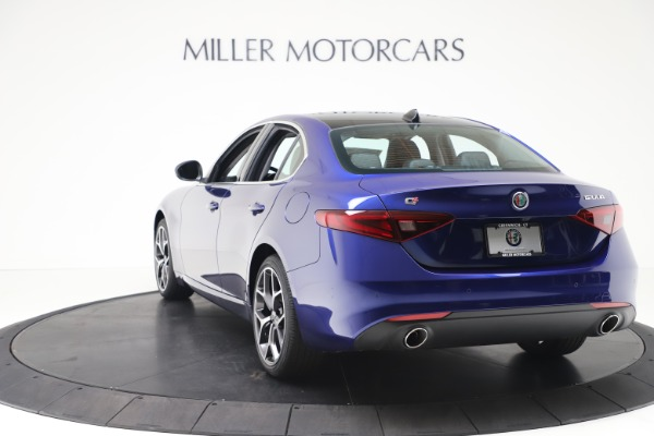 New 2020 Alfa Romeo Giulia Ti Q4 for sale $49,245 at Bugatti of Greenwich in Greenwich CT 06830 5