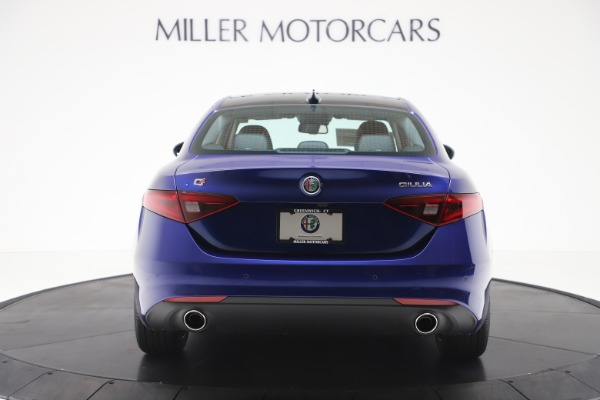 New 2020 Alfa Romeo Giulia Ti Q4 for sale $49,245 at Bugatti of Greenwich in Greenwich CT 06830 6