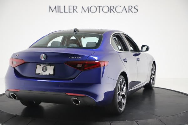 New 2020 Alfa Romeo Giulia Ti Q4 for sale $49,245 at Bugatti of Greenwich in Greenwich CT 06830 7