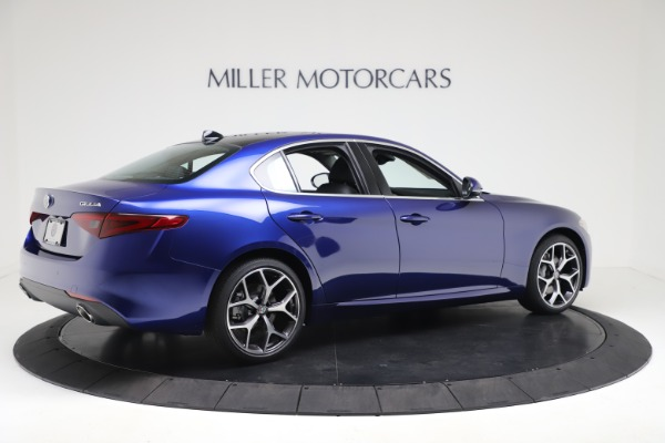 New 2020 Alfa Romeo Giulia Ti Q4 for sale $49,245 at Bugatti of Greenwich in Greenwich CT 06830 8