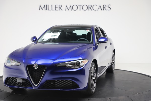 New 2020 Alfa Romeo Giulia Ti Q4 for sale $49,245 at Bugatti of Greenwich in Greenwich CT 06830 1