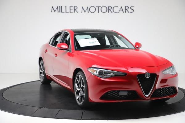 New 2020 Alfa Romeo Giulia Ti Q4 for sale $47,745 at Bugatti of Greenwich in Greenwich CT 06830 10