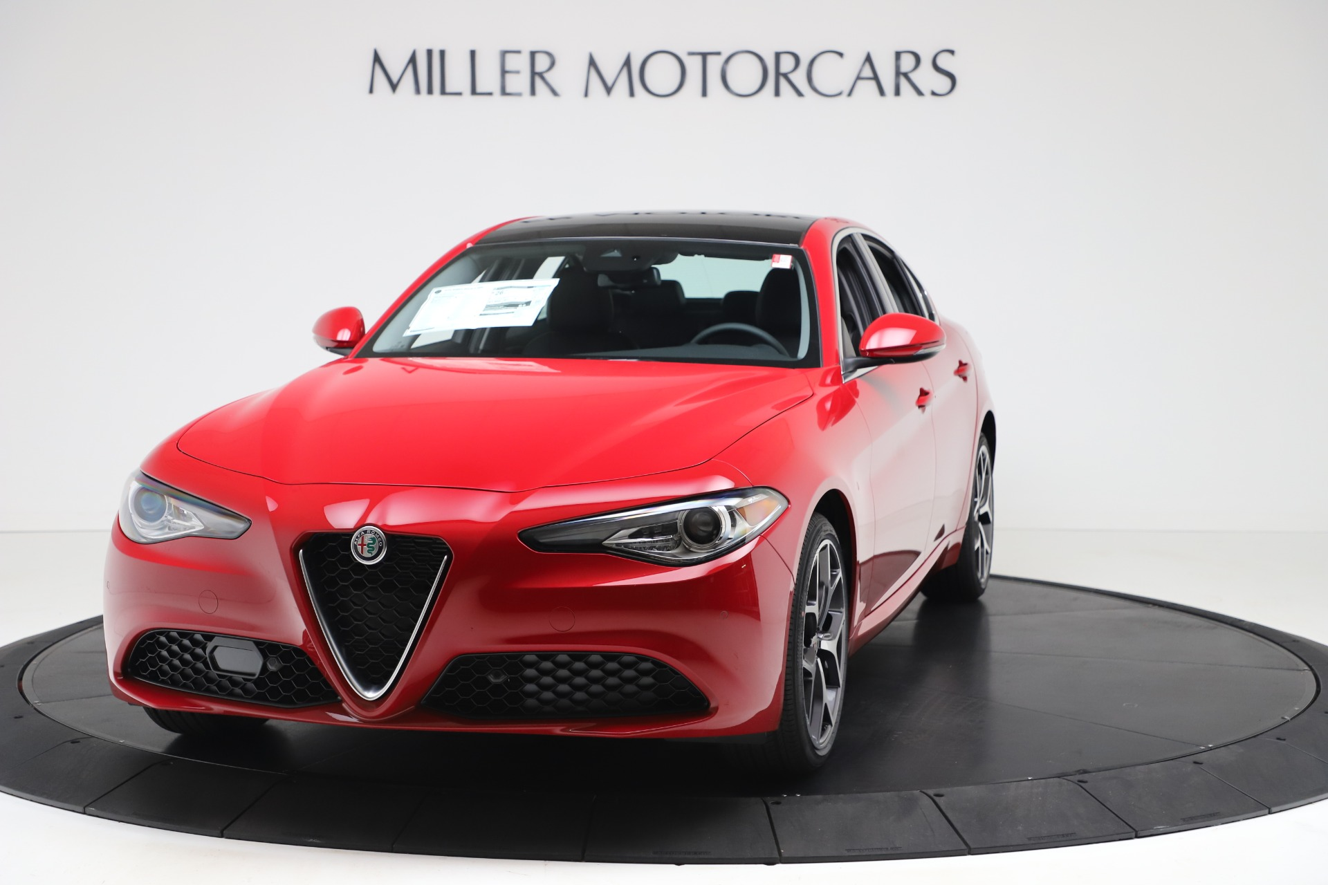New 2020 Alfa Romeo Giulia Ti Q4 for sale $47,745 at Bugatti of Greenwich in Greenwich CT 06830 1