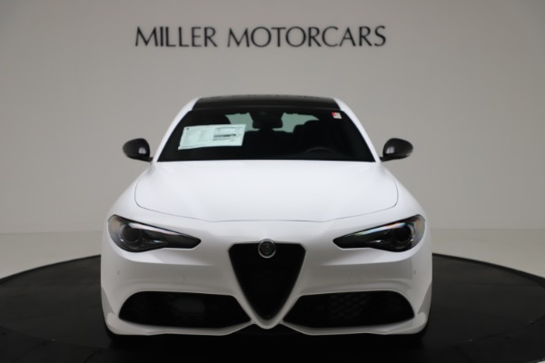 New 2020 Alfa Romeo Giulia Sport Q4 for sale $49,145 at Bugatti of Greenwich in Greenwich CT 06830 12