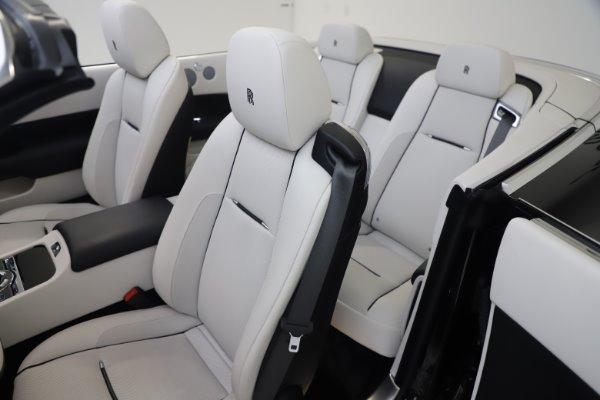Used 2017 Rolls-Royce Dawn for sale $255,900 at Bugatti of Greenwich in Greenwich CT 06830 18