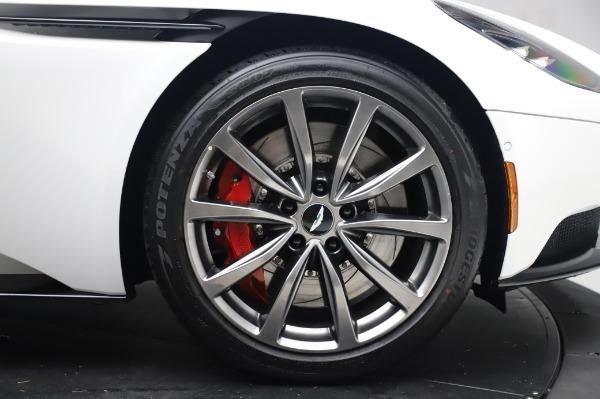 New 2020 Aston Martin DB11 V8 for sale $233,266 at Bugatti of Greenwich in Greenwich CT 06830 20