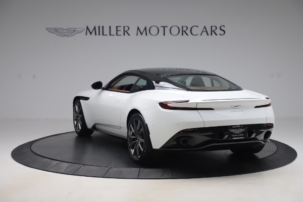 New 2020 Aston Martin DB11 V8 Coupe for sale $233,266 at Bugatti of Greenwich in Greenwich CT 06830 4