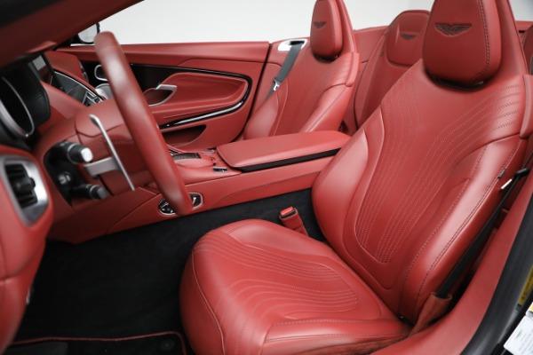 New 2020 Aston Martin DB11 Volante Convertible for sale $247,386 at Bugatti of Greenwich in Greenwich CT 06830 21