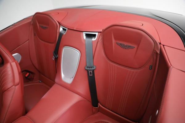 New 2020 Aston Martin DB11 Volante Convertible for sale $247,386 at Bugatti of Greenwich in Greenwich CT 06830 22