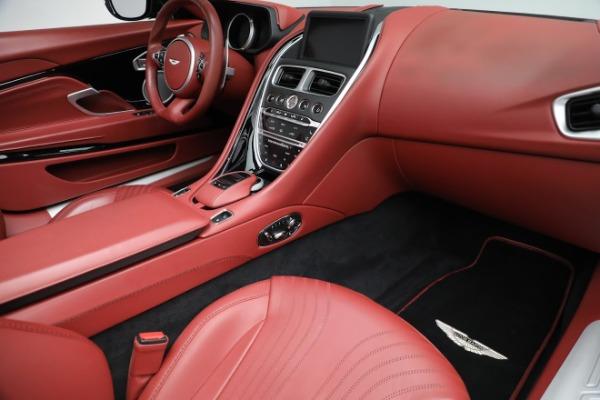 New 2020 Aston Martin DB11 Volante Convertible for sale $247,386 at Bugatti of Greenwich in Greenwich CT 06830 24