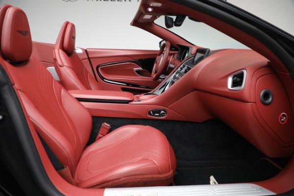 New 2020 Aston Martin DB11 Volante Convertible for sale $247,386 at Bugatti of Greenwich in Greenwich CT 06830 25