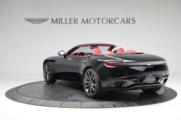New 2020 Aston Martin DB11 Volante Convertible for sale $247,386 at Bugatti of Greenwich in Greenwich CT 06830 4