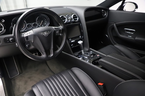Used 2016 Bentley Continental GT V8 S for sale $123,900 at Bugatti of Greenwich in Greenwich CT 06830 13