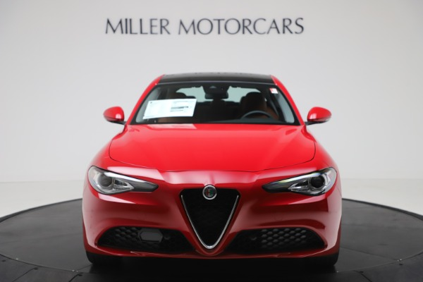 New 2020 Alfa Romeo Giulia Q4 for sale $46,395 at Bugatti of Greenwich in Greenwich CT 06830 12