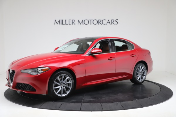 New 2020 Alfa Romeo Giulia Q4 for sale $46,395 at Bugatti of Greenwich in Greenwich CT 06830 2