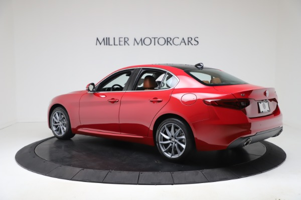 New 2020 Alfa Romeo Giulia Q4 for sale $46,395 at Bugatti of Greenwich in Greenwich CT 06830 4