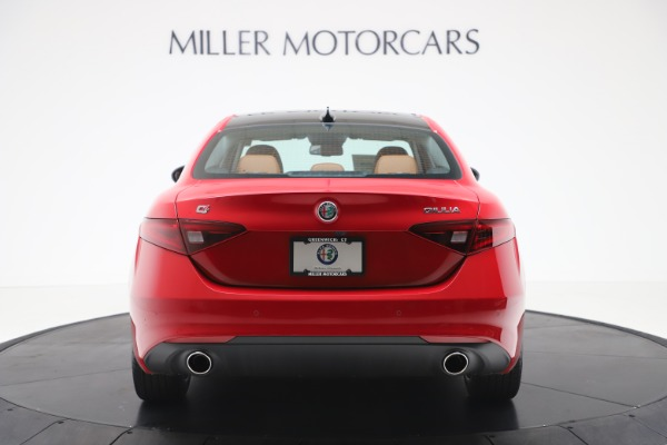 New 2020 Alfa Romeo Giulia Q4 for sale $46,395 at Bugatti of Greenwich in Greenwich CT 06830 6