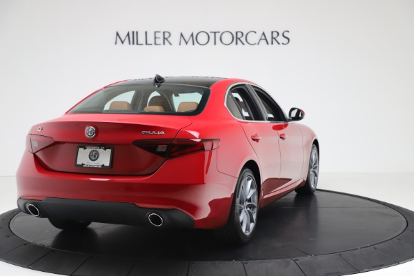 New 2020 Alfa Romeo Giulia Q4 for sale $46,395 at Bugatti of Greenwich in Greenwich CT 06830 7