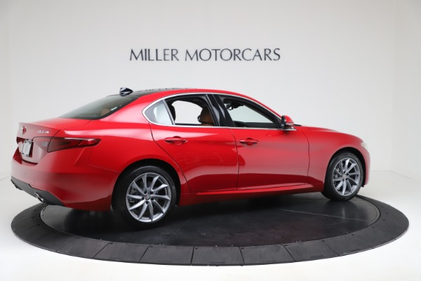 New 2020 Alfa Romeo Giulia Q4 for sale $46,395 at Bugatti of Greenwich in Greenwich CT 06830 8