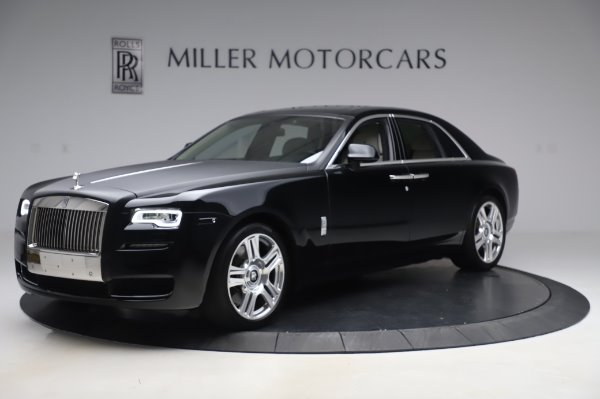 Used 2015 Rolls-Royce Ghost Base for sale Call for price at Bugatti of Greenwich in Greenwich CT 06830 3