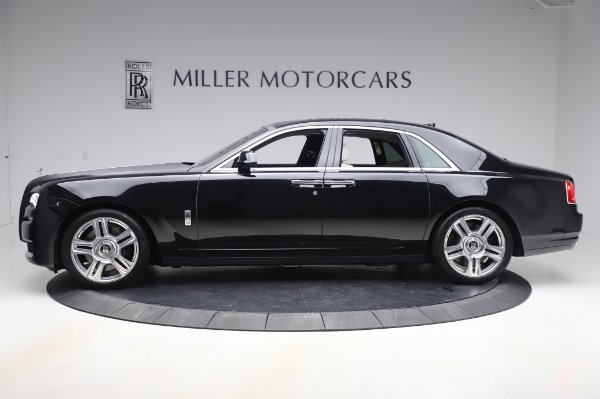 Used 2015 Rolls-Royce Ghost Base for sale Call for price at Bugatti of Greenwich in Greenwich CT 06830 4