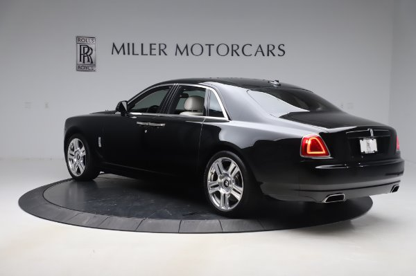 Used 2015 Rolls-Royce Ghost Base for sale Call for price at Bugatti of Greenwich in Greenwich CT 06830 5
