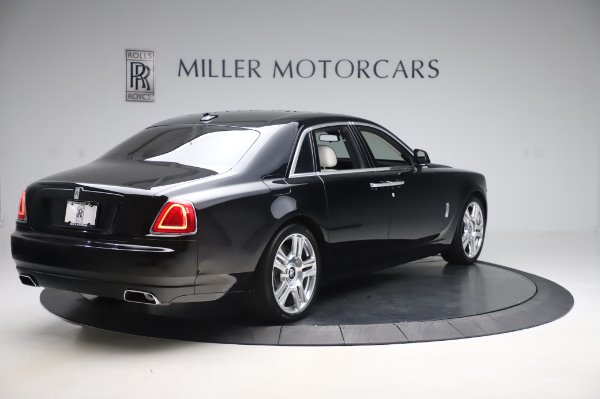 Used 2015 Rolls-Royce Ghost Base for sale Call for price at Bugatti of Greenwich in Greenwich CT 06830 8