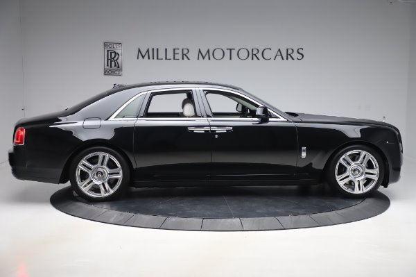 Used 2015 Rolls-Royce Ghost Base for sale Call for price at Bugatti of Greenwich in Greenwich CT 06830 9