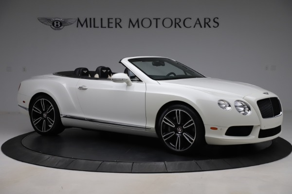 Used 2014 Bentley Continental GTC V8 for sale $106,900 at Bugatti of Greenwich in Greenwich CT 06830 10