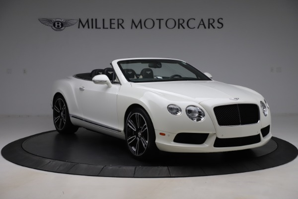 Used 2014 Bentley Continental GTC V8 for sale $106,900 at Bugatti of Greenwich in Greenwich CT 06830 11