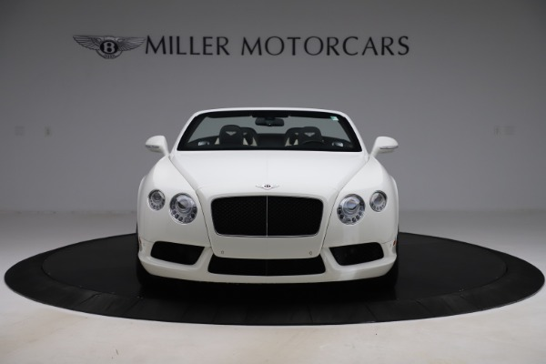 Used 2014 Bentley Continental GTC V8 for sale $106,900 at Bugatti of Greenwich in Greenwich CT 06830 12