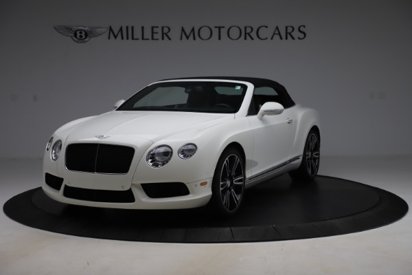 Used 2014 Bentley Continental GT Convertible V8 for sale $106,900 at Bugatti of Greenwich in Greenwich CT 06830 13